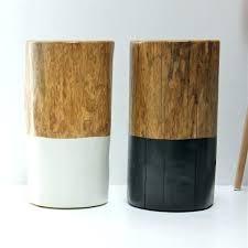 tree stump table base wood stump side table side tables wood stump side table medium size