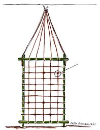 an easy to make and inexpensive trellis for clematis morning