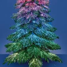 2 1m fibre optic starry sky tree