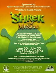 review shrek musical woodlawn theatre ctx live theatre