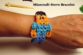 make rainbow bracelet images Minecraft steve bracelet creative world jpg