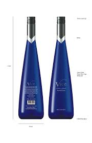 martini blue vice martini bottle redesign by asyenka on deviantart