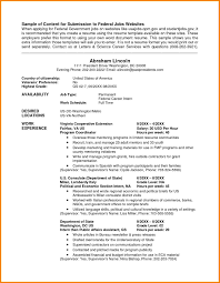 usa resume resume for your job application