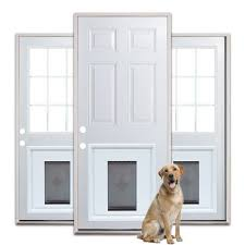 Patio Door With Pet Door Built In Door Prehung Steel Door Units Special Buy Assortment