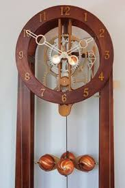 Free Wood Clock Plans Download by Wooden Gear Clock Plans From Hawaii By Clayton Boyer Objets