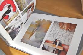 personalized wedding albums wedding album hinged strung stitched