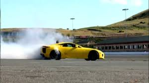 lexus lfa javier quiros lexus lfa incredible burnout loud amazing sound 720p hd