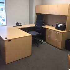 lacasse u shaped desk w hutch office furniture warehouse