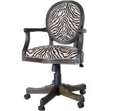 zebra print desk chair zebra desk chair a warm zebra print office chair chairs sofas desk