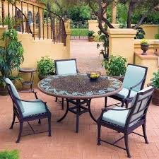 Mosaic Patio Furniture by Patio Furniture Cushions Ideas 17 Astonishing Mosaic Patio