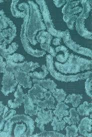Peacock Velvet Upholstery Fabric Fioravanti Fabric Turquoise Velvet Damask Design On Teal Cloth