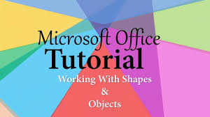 tutorial youtube word how to draw shapes in microsoft word 2016 drawing tools tutorial