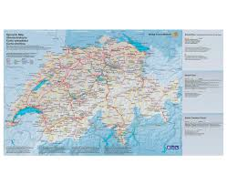 Swiss Map Maps Of Switzerland Detailed Map Of Switzerland In English