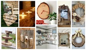 genuine diy rustic wood then posts with diy rustic decor tag