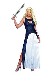 khaleesi costume dreamgirl women s queendom come warrior khaleesi costume