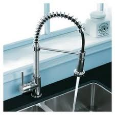 spiral kitchen faucet vigo matte black pull out spray kitchen faucet overstock