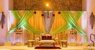 wedding backdrop gold a minty mix pistachio green and gold imperial decor
