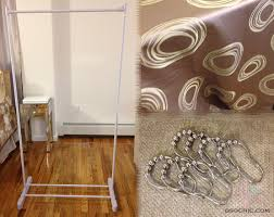 How To Make A Room Screen Divider - making a room divider in how to make with white curtain ideas 8