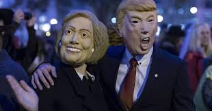 hillary witch costume election turmoil boosts halloween spending to all time high