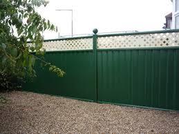 25 year guaranteed durable garden fencing colourfence