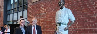 giffen tribute at adelaide oval newest sculpture unveiled the