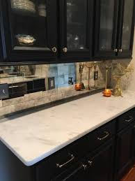 mirror tile backsplash kitchen antique mirror glass company