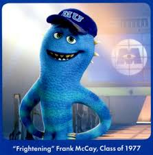 monsters university frank mccay voiced john krasinski
