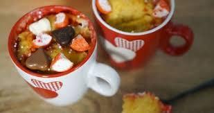 hervé cuisine fraisier recette mug cake chocolat blanc fraise tagada hervecuisine com
