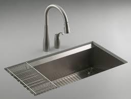 kohler kitchen sink faucet kitchen dining attractive kohler sinks with single bowl and
