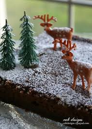 Vintage Christmas Cake Decorations Reindeer by 40 Best Cake Decorations Images On Pinterest Cake Decorations