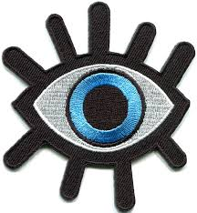amazon com eye eyeball tattoo wicca occult goth punk retro