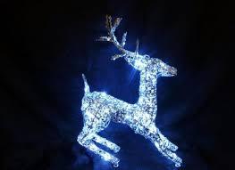 reindeer lights reindeer light outdoor figures