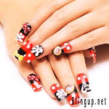 111 best disney nails images on pinterest disney nails mickey