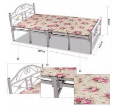 Folding Single Guest Bed Portable Folding Bed On Sales Quality Portable Folding Bed Supplier