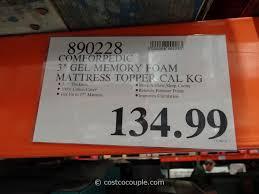 Best Gel Foam Mattress Topper Firm Memory Foam Mattress Topper Costco Best Mattress Decoration