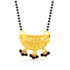 bead design jewelry necklace images Gold mangalsutra pendant black bead design mangalsutra pendant jpg