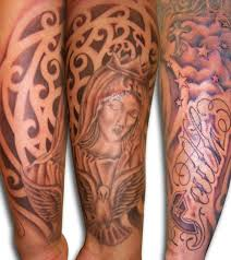 half sleeve design