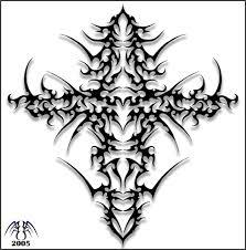 ancient tribal cross by alan47 on deviantart