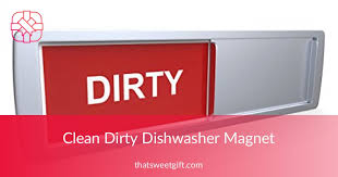 Dirty Clean Dishwasher Magnet Premium Clean Dirty Dishwasher Magnet U0026 Indicator Thatsweetgift