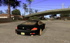 2004 bmw 645ci e63 with white interior for gta san andreas