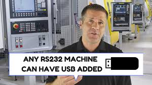 add usb to any rs232 cnc machine youtube