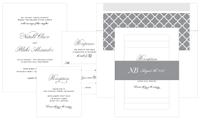 wedding menus shine wedding invitations luxury wedding