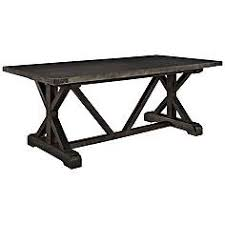 Black And Wood Dining Table Dining Tables New Dining Room Table Furniture Lamps Plus