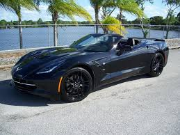 2014 black 3lt z51 auto conv 5 000 2014 corvette