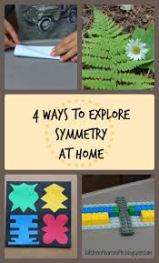 kitchen floor crafts 4 ways to explore symmetry at home