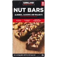 kirkland signature nut bars 30 pack