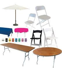 rent table and chairs 15 best tables and chair rental images on tent los