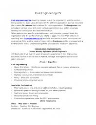 Sample Of Civil Engineer Resume by Civil Engineering Resume Resume For Your Job Application