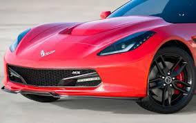 corvette front acs five1 front lip splitter spoiler for c7 corvette stingray pfyc