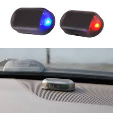 security led lights car 1pcs universal car led light security system warning theft flash